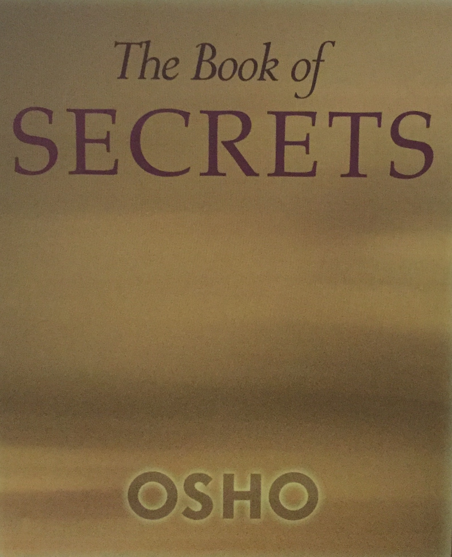 Book Of Secrets Osho